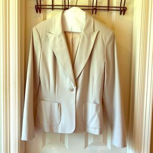 The Limited Khaki Suit Blazer